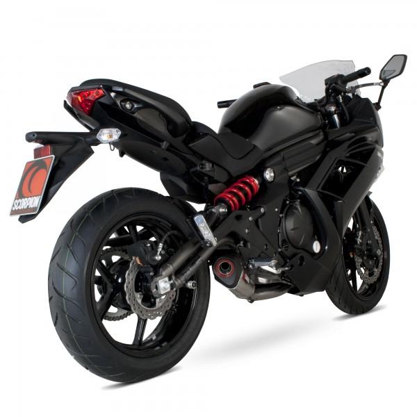 Scorpion Serket Taper Komplettanlage für Kawasaki ER 6 F / N 2012-2016 Motorräder