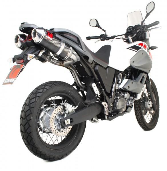 Scorpion Factory Auspuff für Yamaha XT 660 Tenere 2008-2013 Motorräder
