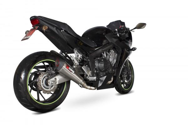 Scorpion Serket Taper Komplettanlage für Honda CB 650 F 2014-2018 Motorräder