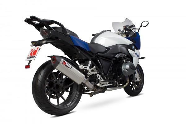Scorpion Serket Parallel Auspuff für BMW R 1200 R / RS 2015-2018 Motorräder