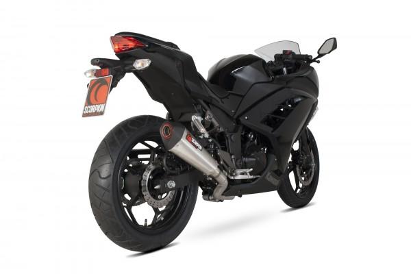 Scorpion Serket Taper Komplettanlage für Kawasaki Z 300 2015-2016 Motorräder