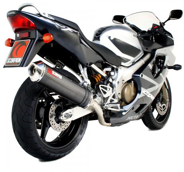 Scorpion Factory Auspuff für Honda CBR 600 Fi F4i 2001-2008