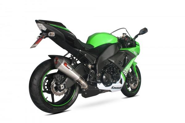 Scorpion Serket Taper Auspuff für Kawasaki Ninja ZX 10 R 2008-2010 Motorräder
