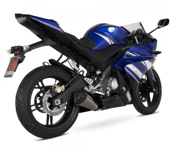 Scorpion Serket Taper Auspuff für Yamaha YZF R 125 2008-2013 Motorräder