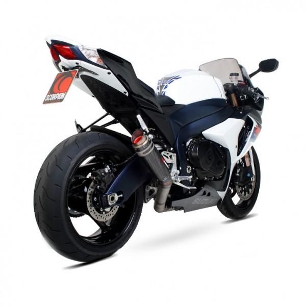 Scorpion RP-1 GP Auspuff für Suzuki GSX R 1000 2009-2011 Motorräder