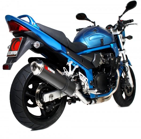 Scorpion Factory Auspuff für Suzuki GSF 650 Bandit 2000-2006 Motorräder