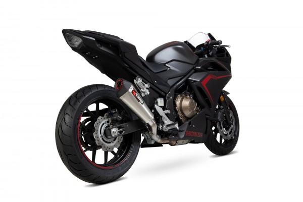 Scorpion Serket Taper Auspuff für Honda CBR 500 R 2019- Motorräder Edelstahl