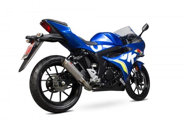 Scorpion RP-1 GP Komplettanlage für Suzuki GSX R 125 / GSX R 150 2017-2020 Motorräder