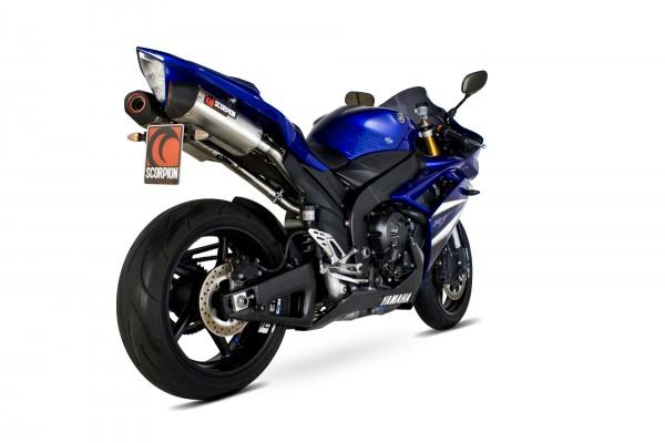 Scorpion Serket Parallel Auspuff für Yamaha YZF R 1 2007-2008 Motorräder