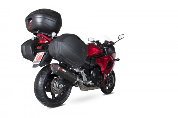 Scorpion Serket Parallel Auspuff für Suzuki GSX 1250 FA 2009-2016 Motorräder