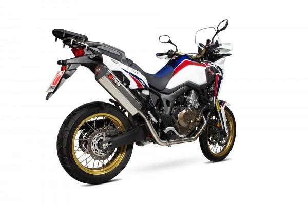 Scorpion Serket Parallel Komplettanlage für Honda CRF 1000 L Africa Twin 2015-2017 Motorräder