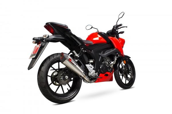 Scorpion Serket Taper Komplettanlage für Suzuki GSX S 125 / GSX S 150 2017-2020 Motorräder