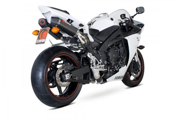 Scorpion Serket Parallel Auspuff für Yamaha YZF R 1 2009-2014 Motorräder