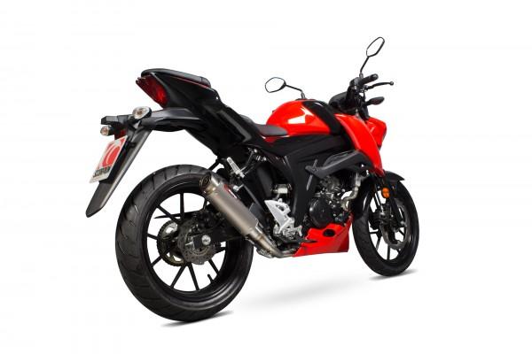 Scorpion RP-1 GP Komplettanlage für Suzuki GSX S 125 / GSX S 150 2017-2020 Motorräder