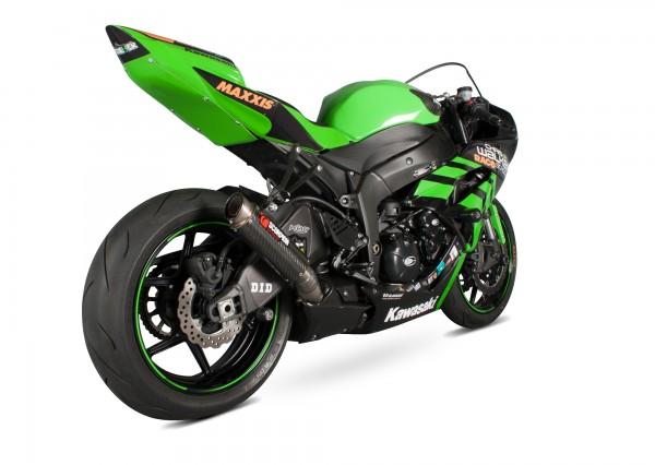 Scorpion RP-1 GP Auspuff für Kawasaki Ninja ZX 6 R 2009-2012 Motorräder