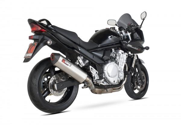 Scorpion Serket Parallel Auspuff für Suzuki GSF 650 Bandit 2007-2011 Motorräder