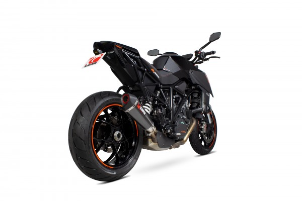 Scorpion Serket Taper Endtopf für KTM 1290 Super Duke R & GT Carbon