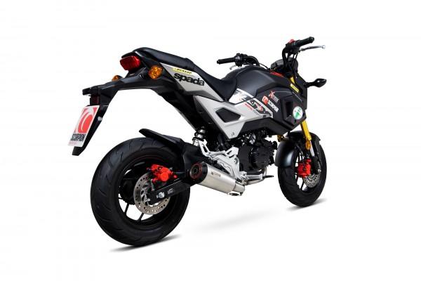 Scorpion Red Power Komplettanlage für Honda MSX 125 2016-2021 Motorräder