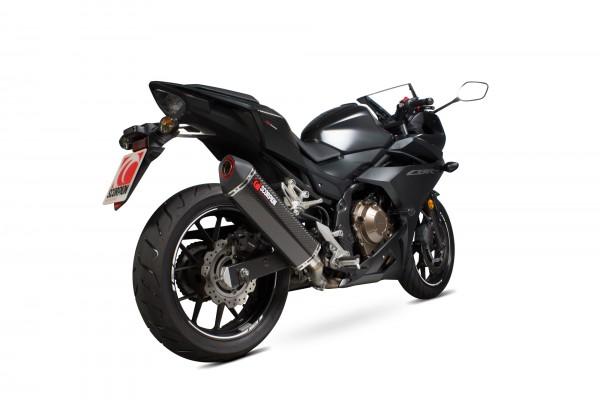 Scorpion Serket Parallel Auspuff für Honda CBR 500 R 2017- 2018 Motorräder
