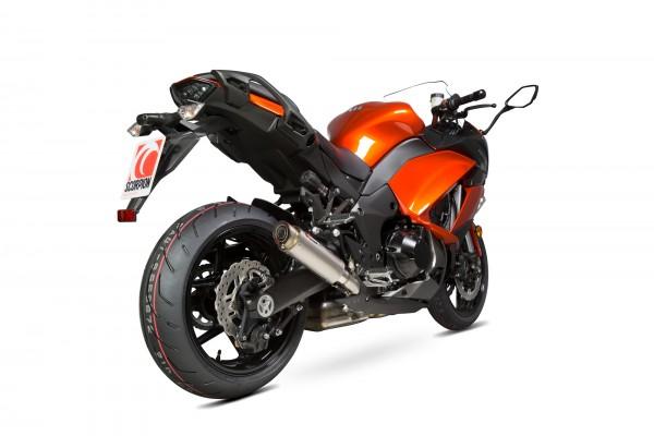 Scorpion RP 1 GP Auspuff für Kawasaki Z 1000 SX 2014-2016 Motorräder