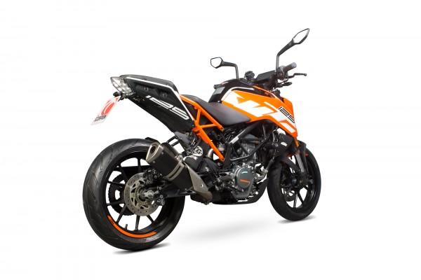 Scorpion Katersatzrohr für KTM Duke 125 2017- 2020 Motorräder