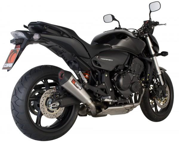 Scorpion Serket Taper Auspuff für Honda CB 600 Hornet 2007-2013 Motorräder