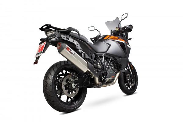 Scorpion Serket Parallel Auspuff für KTM Adventure 1290 2015- Motorräder