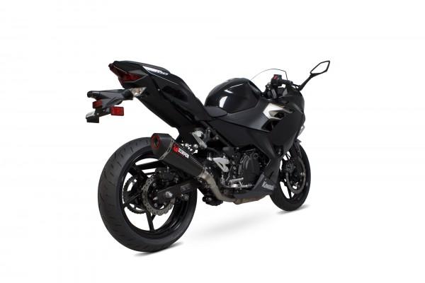 Scorpion Serket Taper Enddämpfer für Kawasaki Ninja 400 / 250 2018- mit EG-Betriebserlaubnis