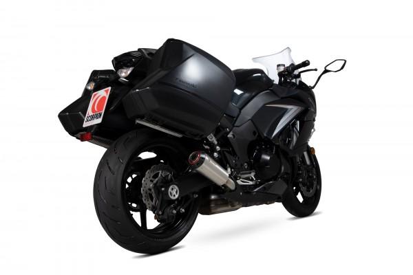 Scorpion Red Power Auspuff für Kawasaki Z 1000 SX 2017-2019 Motorräder