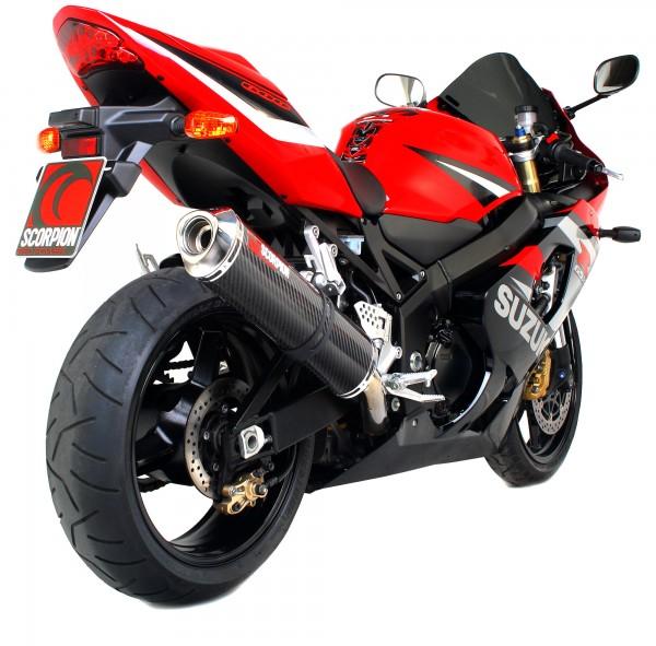 Scorpion Factory Auspuff für Suzuki GSXR 600 2000-2005 Motorräder