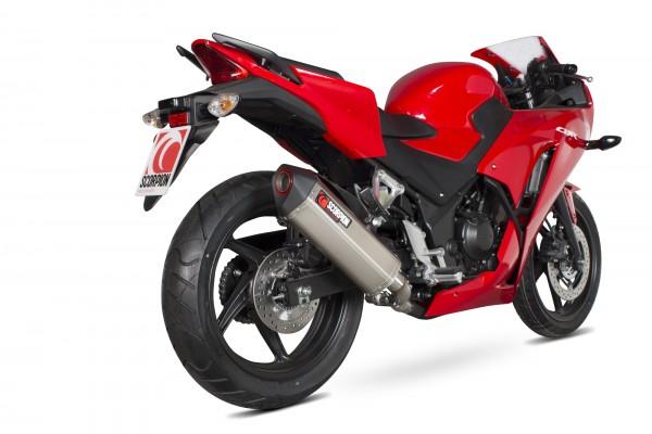 Scorpion Serket Parallel Auspuff für Honda CBR 300 R