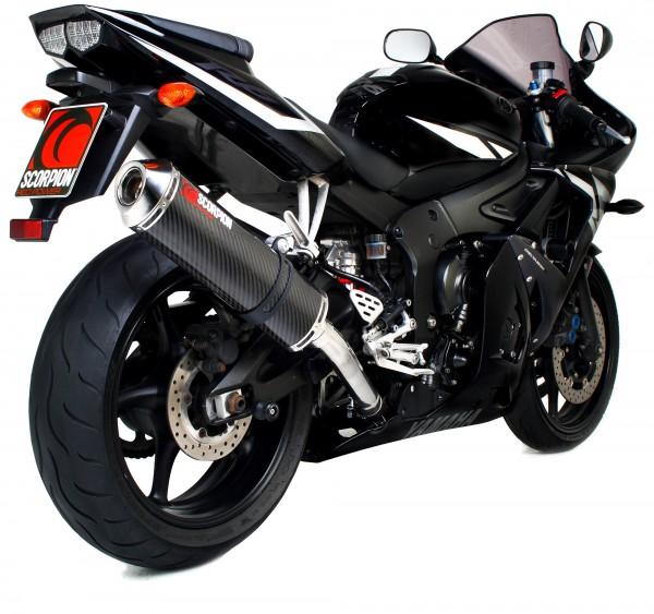 Scorpion Factory Auspuff für Yamaha YZF R6 2003-2005 Motorräder
