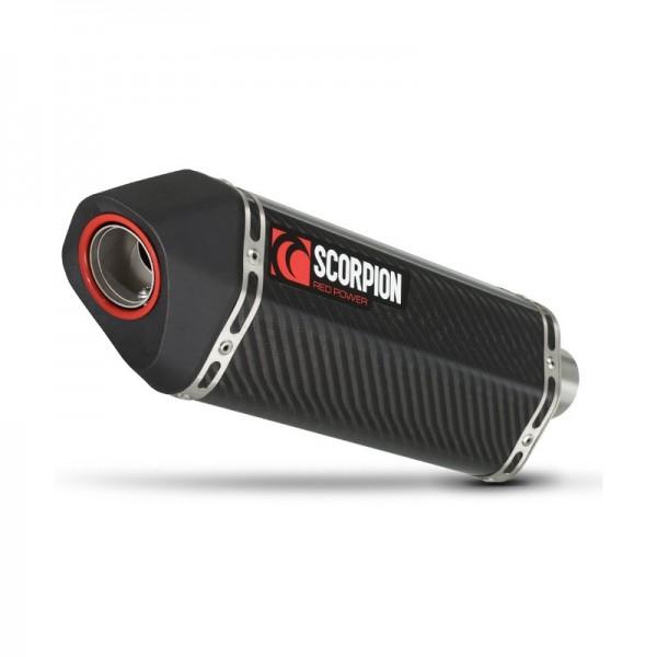 Scorpion Serket Parallel Auspuff für Triumph Speed Triple 1050 2005-2010 Motorräder
