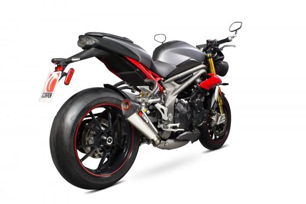 Scorpion Serket Taper Auspuff für Triumph Speed Triple 1050 2016-2017 Motorräder
