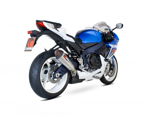 Scorpion Serket Taper Auspuff für Suzuki GSX R 600 / 750 2011-2016 Motorräder