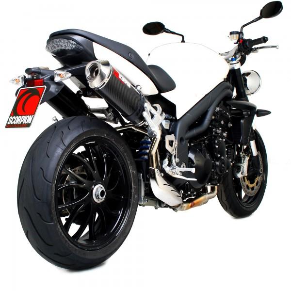 Scorpion Factory Auspuff für Triumph Speed Triple 1050 2005-2010 Motorräder