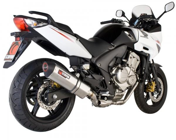 Scorpion Serket Parallel Auspuff für Honda CBF 600 2008-2014