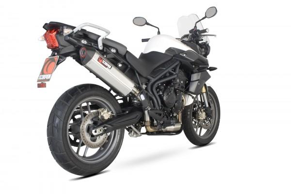 Scorpion Serket Parallel Auspuff für Triumph Tiger 800 2011-2016 Motorräder