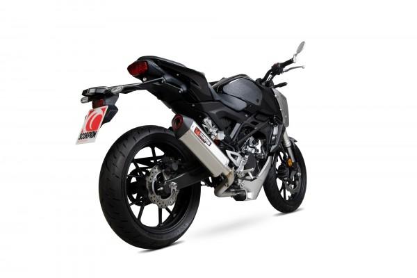 Scorpion Serket Komplettanlage für Honda CB 125 R 2018-2020 Motorräder