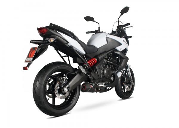 Scorpion Serket Taper Auspuff für Kawasaki Versys 650 2007-2014 Motorräder