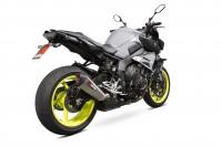 Scorpion Serket Taper Auspuff für Yamaha MT 10 2016-2020 Motorräder