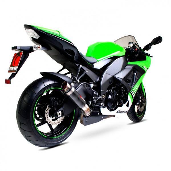 Scorpion RP-1 GP Auspuff für Kawasaki Ninja ZX 10 R 2008-2010