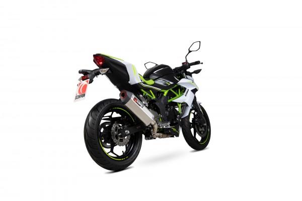 Scorpion Serket Parallel Auspuff für Kawasaki Z 125 2018-2020 Motorräder