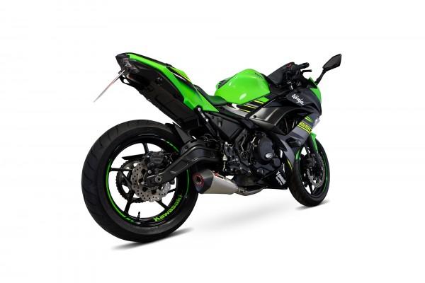 Scorpion Serket Taper Komplettanlage für Kawasaki Ninja 650 2017-2021 Motorräder