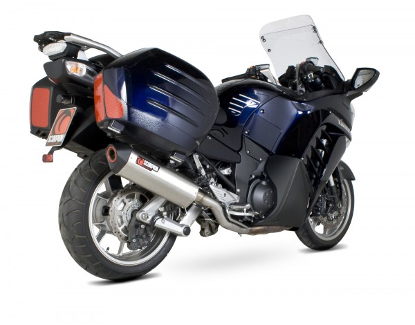 Scorpion Serket Parallel Auspuff für Kawasaki GTR 1400 2007-2018 Motorräder