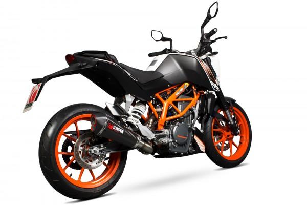 Scorpion Serket 3/4 System in für KTM Duke 390 2013-2018 Motorräder