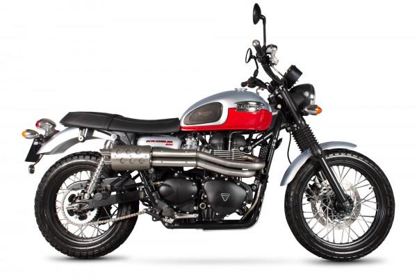 Scorpion Serket Komplettanlage für Triumph Scrambler 2013- Motorräder