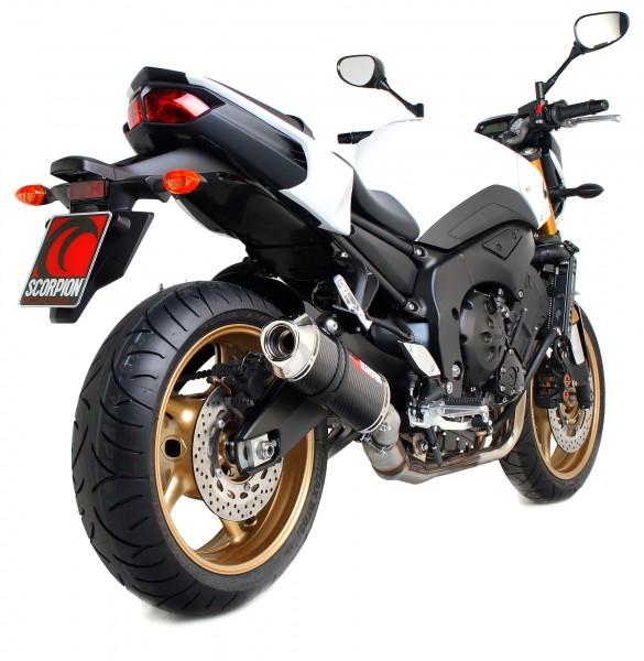 Scorpion Factory Auspuff für Yamaha FZ 8 / Fazer 8 2010-2016 Motorräder