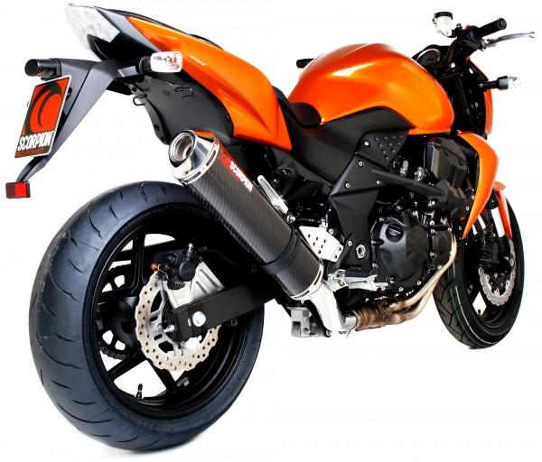 Scorpion Factory Auspuff für Kawasaki Z 750 2007-2012 Motorräder