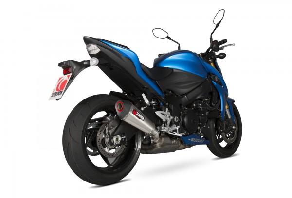 Scorpion Serket Taper Auspuff für Suzuki GSX S 1000 F 2015-2020 Motorräder
